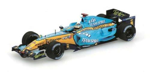 MINICHAMPS 436 060001 - Renault F1 R26 Fernando Alonso 2006 World